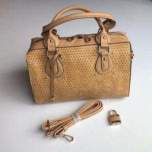 Handbags - Tan Lattes Hand Bag NWOT